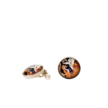 Load image into Gallery viewer, Tiger Cufflinks