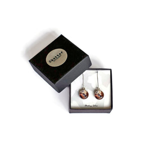 gift boxed tiger earrings