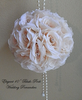 silk wedding brooch bouquet