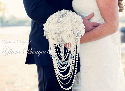 CUSTOM BRIDAL BOUQUET    $450-$1200