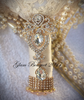 PINK GOLD & IVORY BROOCH BOUQUET - Full Price $595 USD