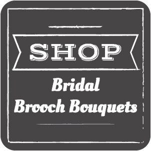 bridal brooch bouquets