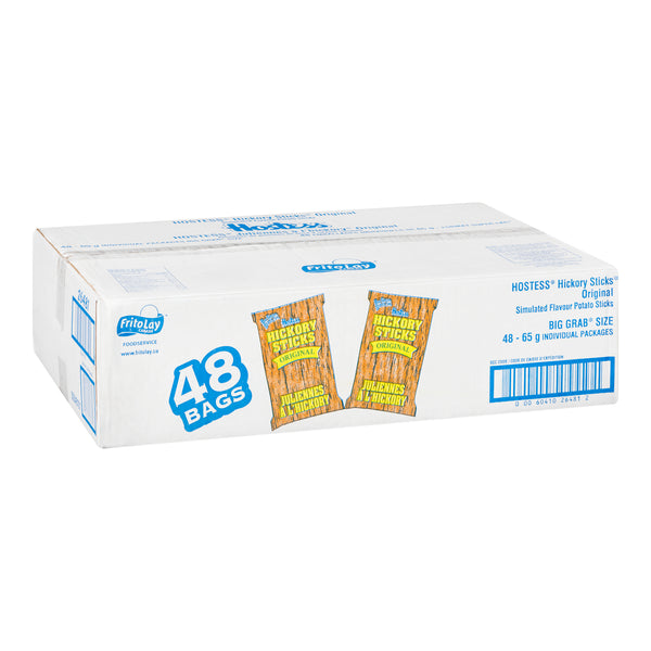 Hostess Hickory Sticks 65g - Case Pack of 48