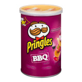 PRINGLES BBQ POTATO CHIPS - 68g Case Pack of 12