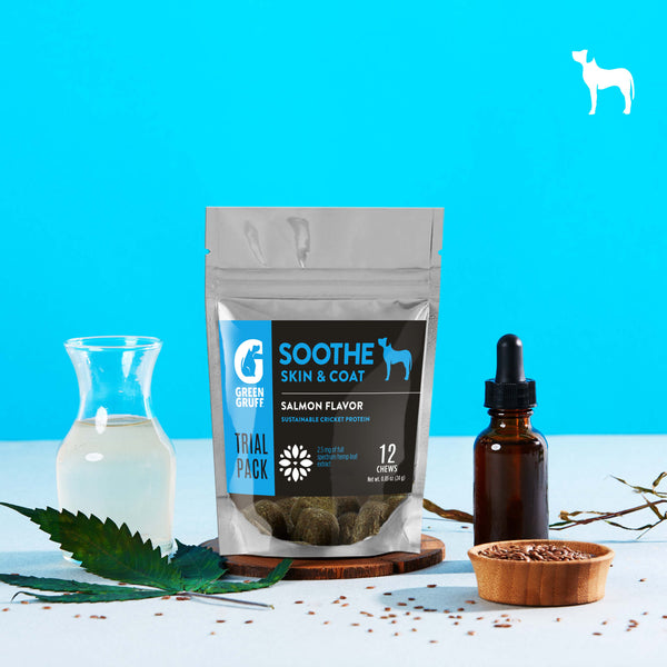 Green Gruff Hemp and Cricket Protein Trial Size - SOOTHE