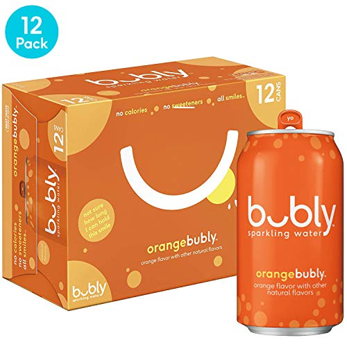 bubly Orange Sparkling Water