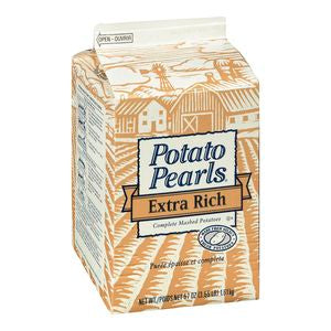 Extra Rich Instant Mashed Potatoes