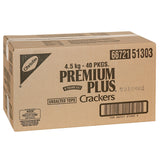 Premium Plus Soda Crackers - Unsalted