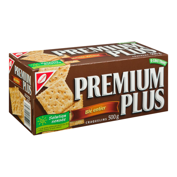Premium Plus Soda Crackers - Whole Wheat
