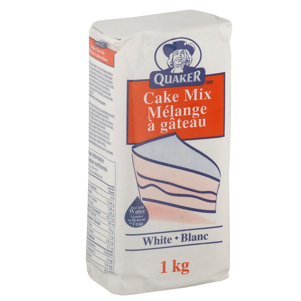 Quaker White Cake Mix