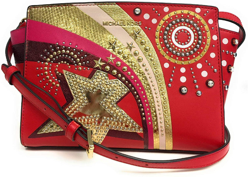 Selma Medium Firework Bright Red Messenger Bag