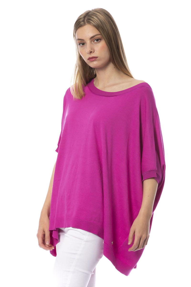 Fuchsia Viscose Sweater