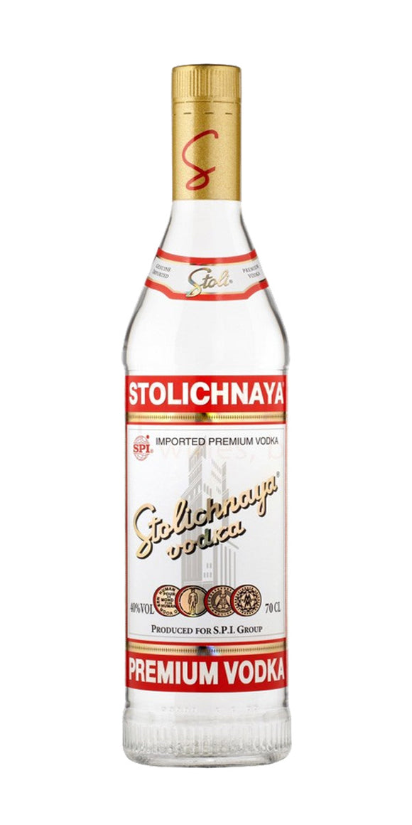 Stolichnaya Red Label Vodka