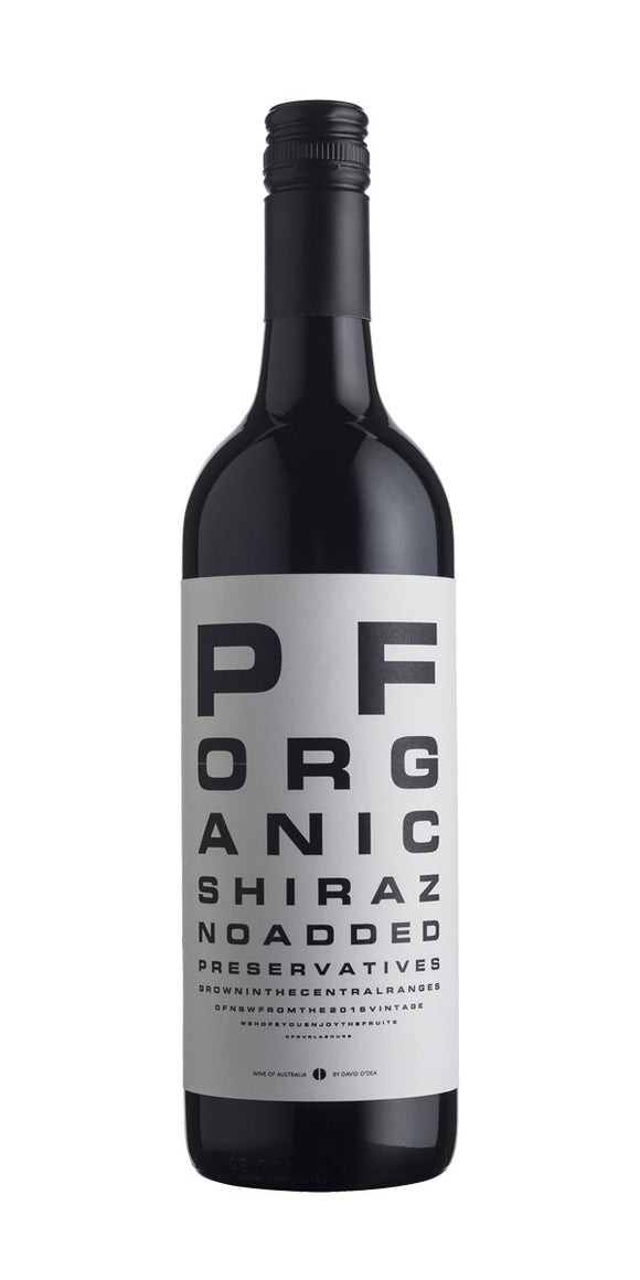 David O'Dea Preservative Free Shiraz