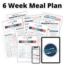 Load image into Gallery viewer, 6 Week Meal Plan