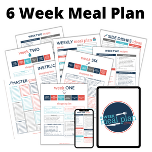 6 Week Meal Plan