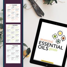 Load image into Gallery viewer, Seasonal Essential Oil Blends Recipe Book