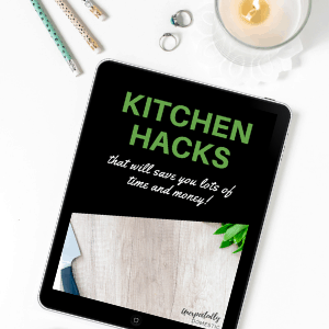 Kitchen Hacks Ebook