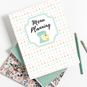 Meal Planning Made Easy Printable Binder Kit