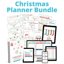 Load image into Gallery viewer, Christmas Simplified Planner Bundle - $15 Special Offer