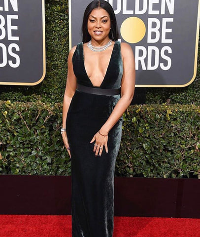Golden Globes Hair, Golden Globes Awards, Golden Globes Beauty, Golden Globes Makeup, Taraji P Henson