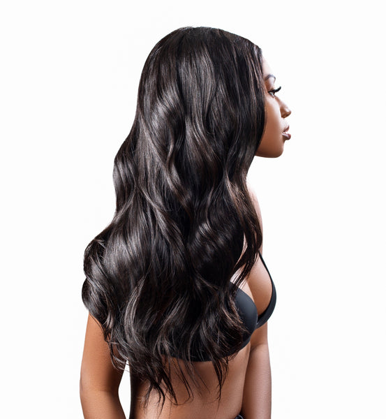 13x6 Raw Waves Frontal Wig