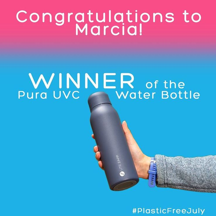 Competition Winner: Pura UVC Water Bottle