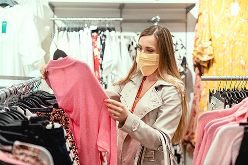 8 Top Tips on Wearing Face Masks Whilst Shopping