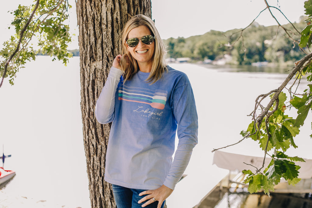 Lakegirl Ombre Lake Life Long Sleeve