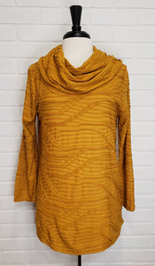 Textured Cowl Tunic