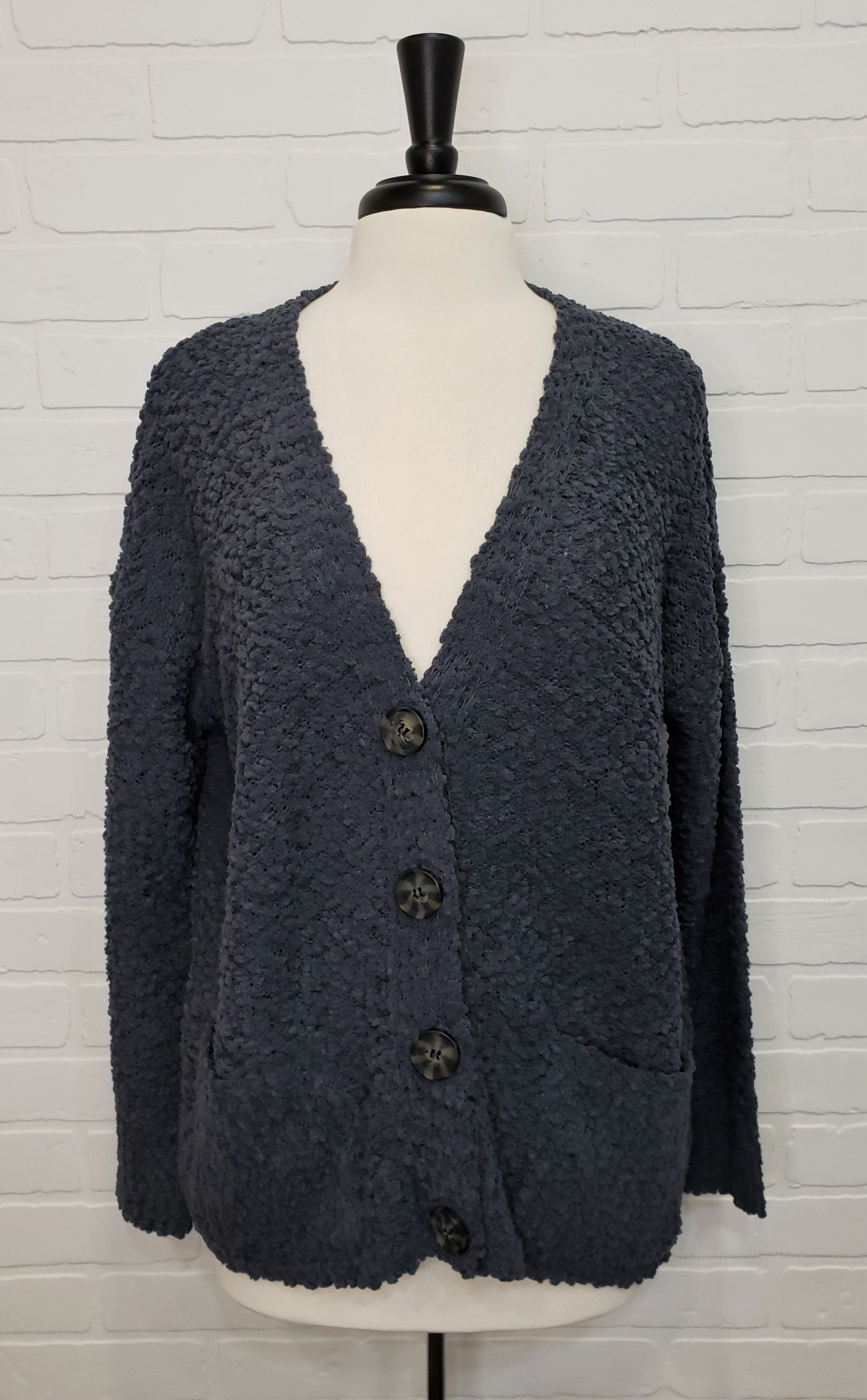 Boucle 2 Pocket Cardigan