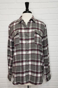 Two Pocket Plaid Flannel