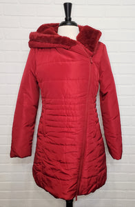 Ruby Red Winter Coat