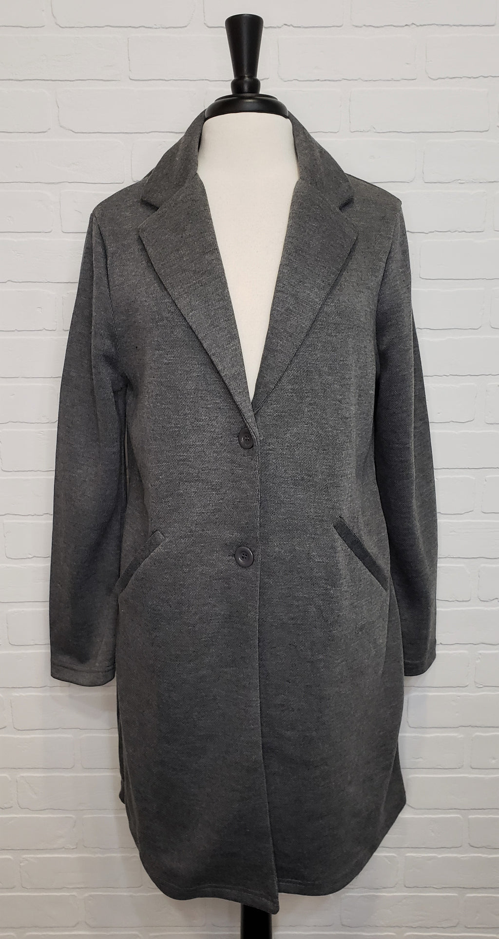 Two Button Fleece Blazer