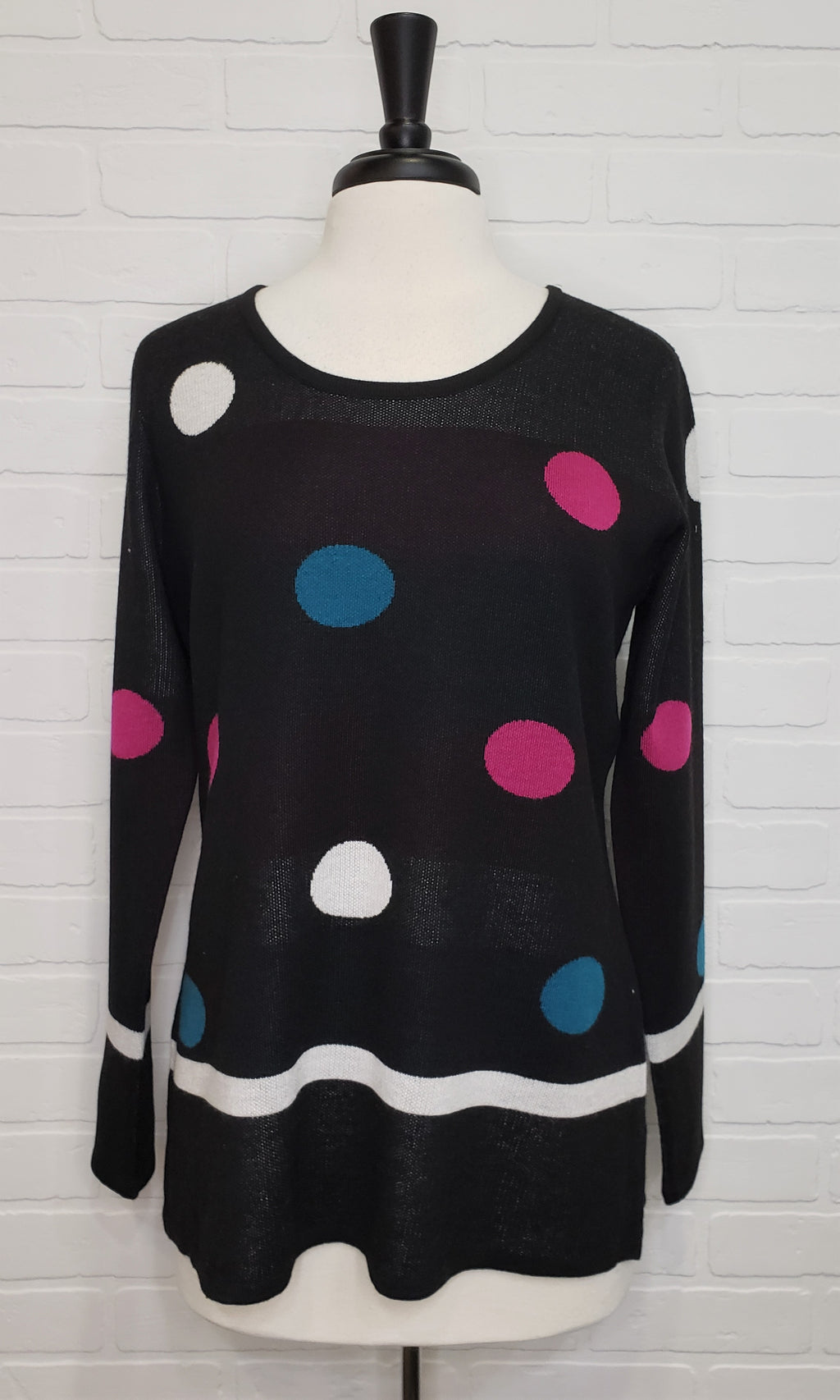 Sweater With Circles