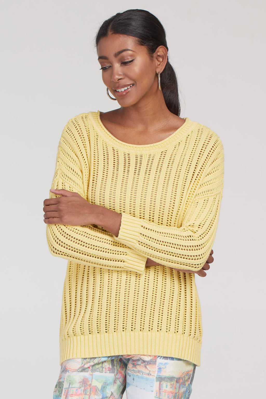 Buttercup Open Rib Sweater