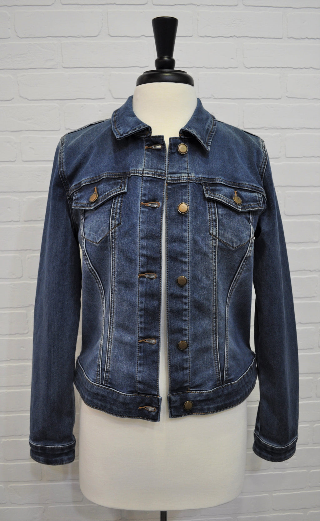 Denim Jean Jacket (Retro Blue)