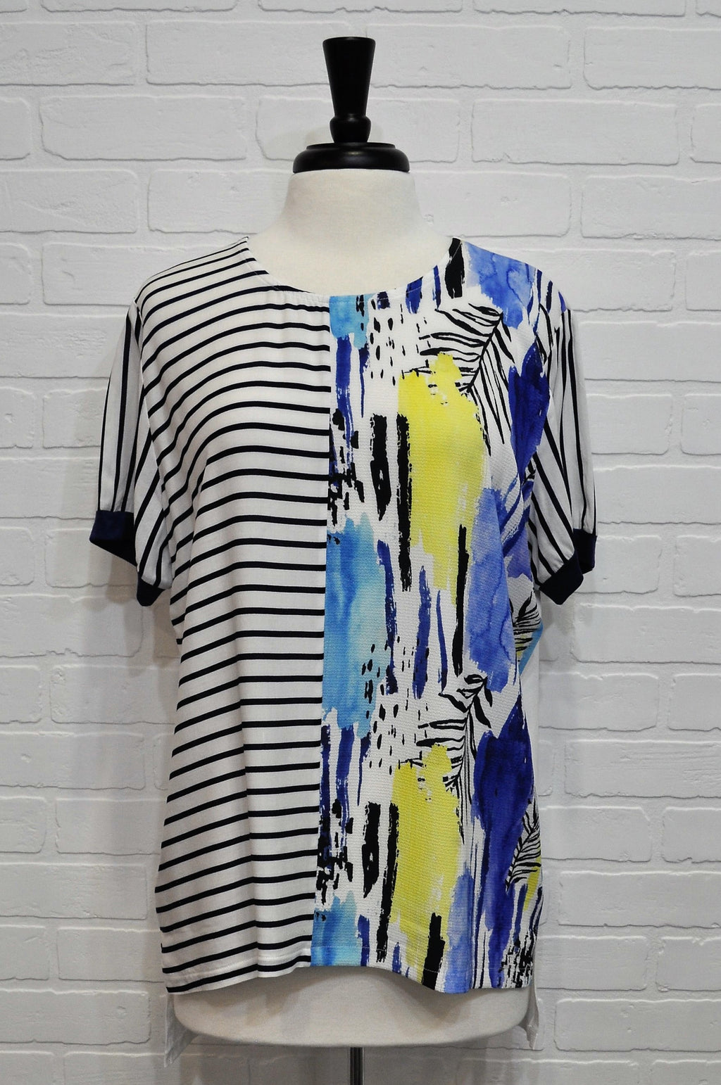 Two Face Print Tunic