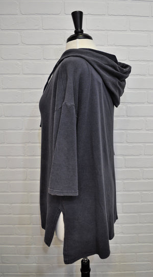 Faded Hooded Tunic