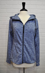 Heathered Zip Up