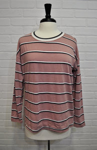 Begonia Striped Long Sleeve