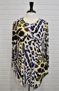 Asymmetrical Animal Tunic