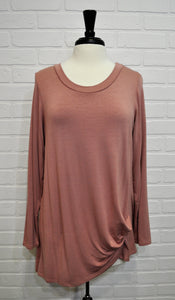 Knot Front Tunic