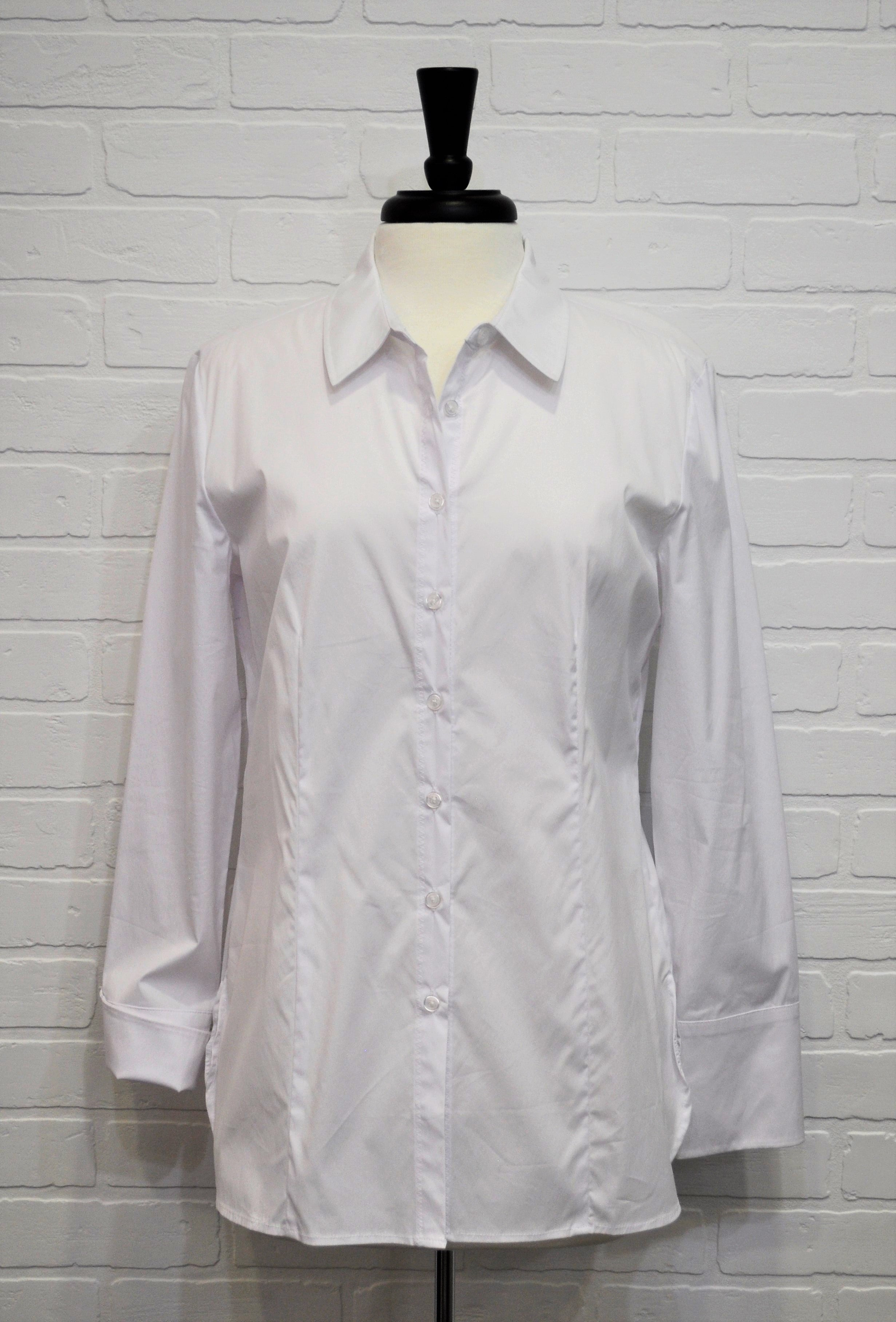White Oxford Button Up