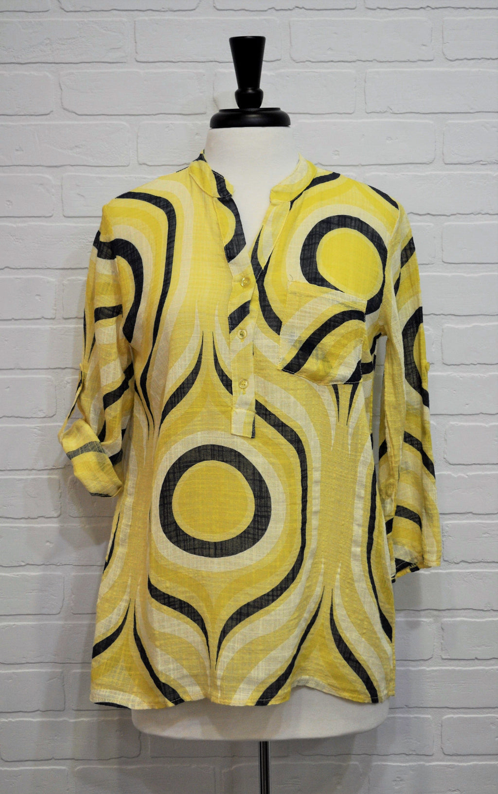 Lemon Roll Tab Cotton Top
