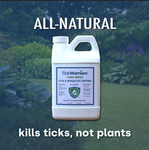 TickWarriors™  All-Natural Yard Spray