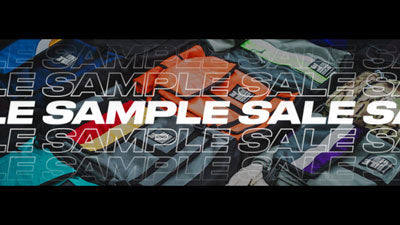 SAMPLE SALE MAY 19 + 20