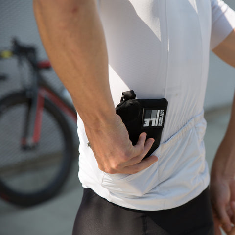 Zippered Cycling Wallet