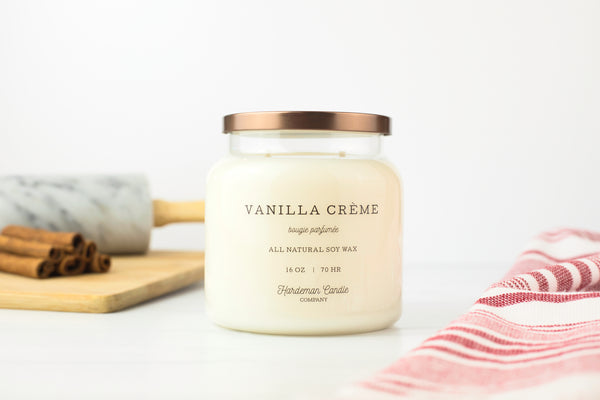 Vanilla Creme 16 oz Soy Candle - Hardeman Home
