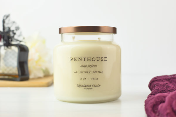 Penthouse 16 oz Soy Candle - Hardeman Home